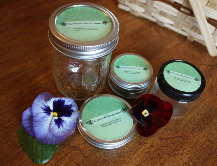 How to create your own round labels for salves etc.