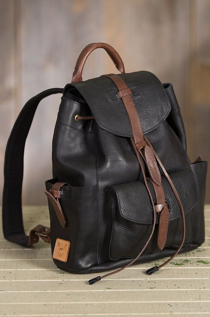Will Rainier Leather Backpack  by Overland Sheepskin Co. (style 60884)