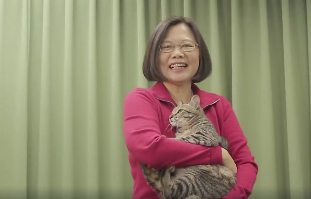 Taiwan's new president is a female academic who loves cats and supports gay rights - Quartz
