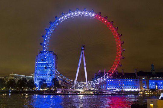 Le London Eye, à Londres