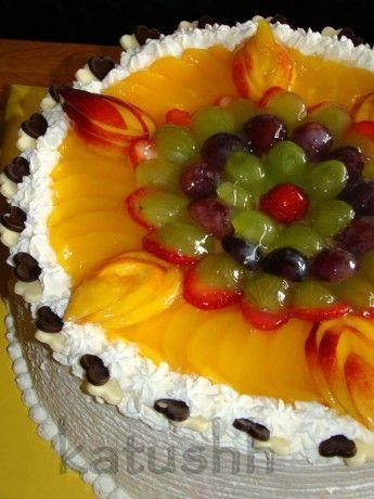 Ovocné šlehačkové dorty