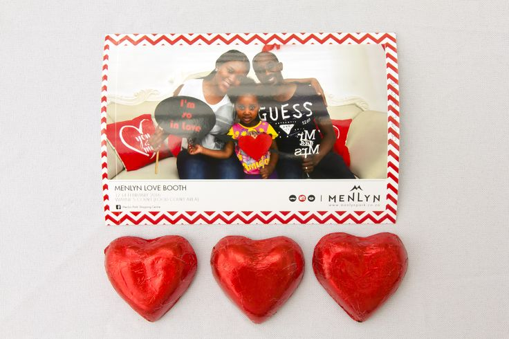 Instant Pics at our Valentine's Activation.