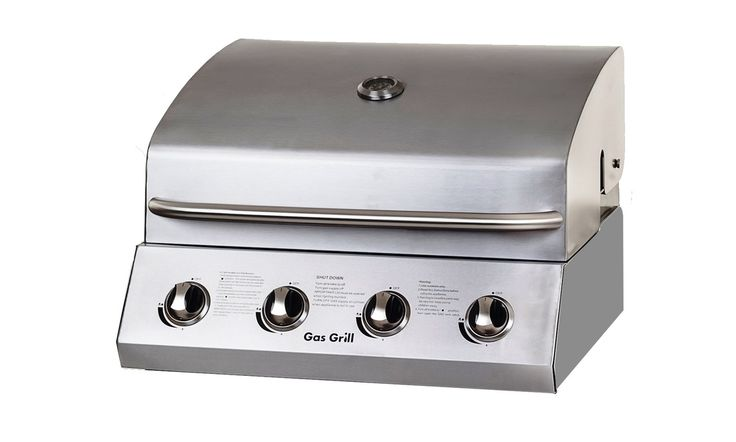 Churrasqueira Embutida (Built-In) GAS GRILL