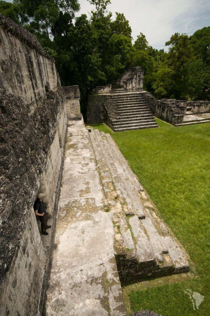 tikal ruine maya guatemala