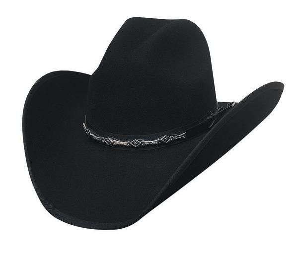 WHITE THE LEGACY Bullhide 8X Fur Blend  Cowboy Hat