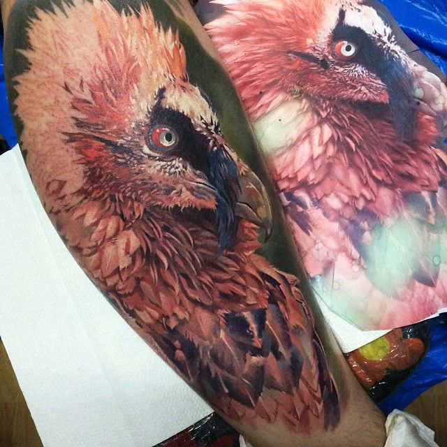 Tattoo in Progress by Dmitriy Samohin