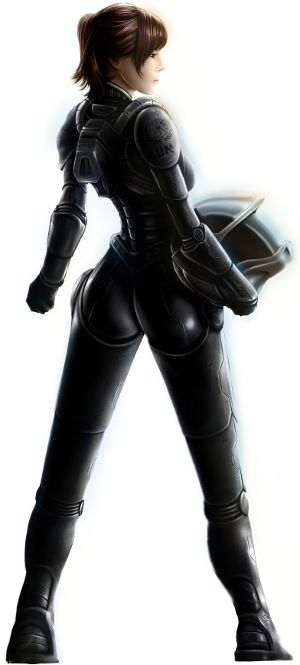 Brooke Davis (Main Character, Flight Armor)  Designed by Aaron Page