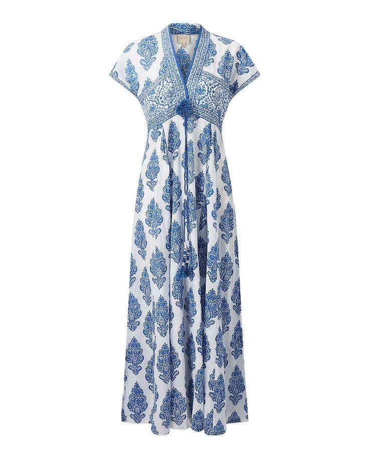 Sahara Print Maxi Dress