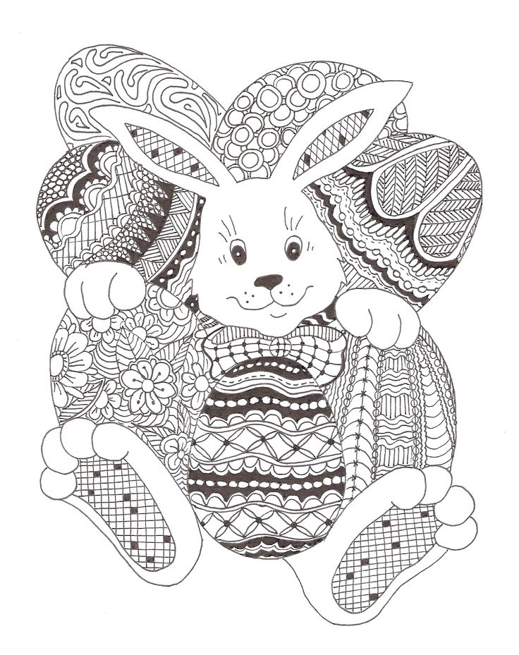 38 best images about zentangle easter on