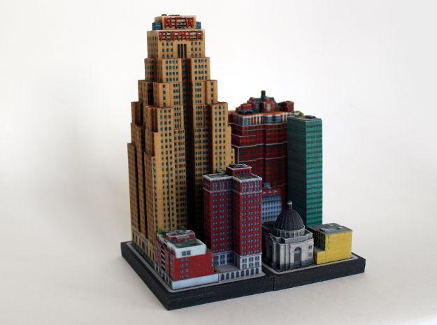Wyndham New Yorker Hotel 5 X 4 By Ittyblox On Shapeways In 2020 Art Deco Hotel Shapeways Wyndham