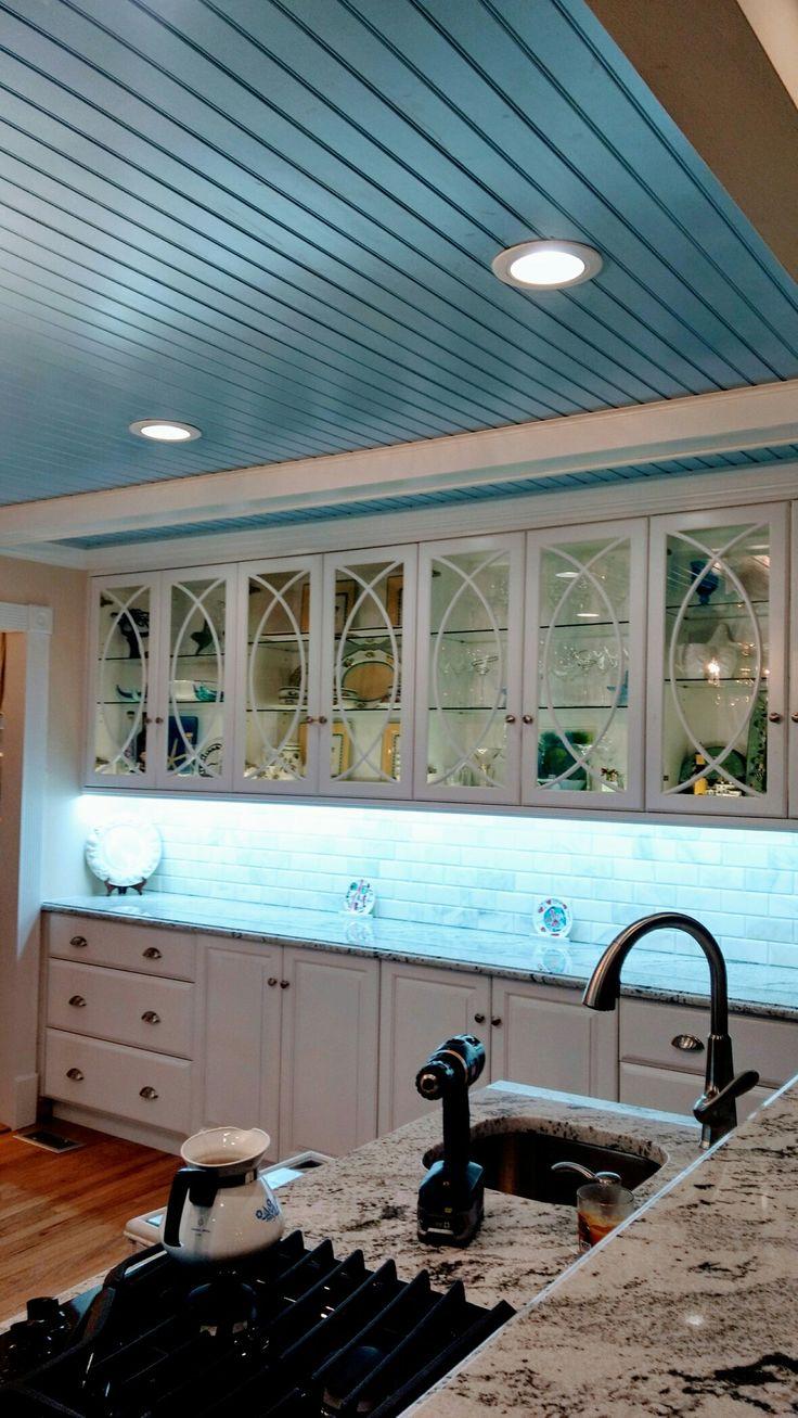 11 best Mac\' s new Kitchen..thanks to Pinterest..Blue Bead Board ...