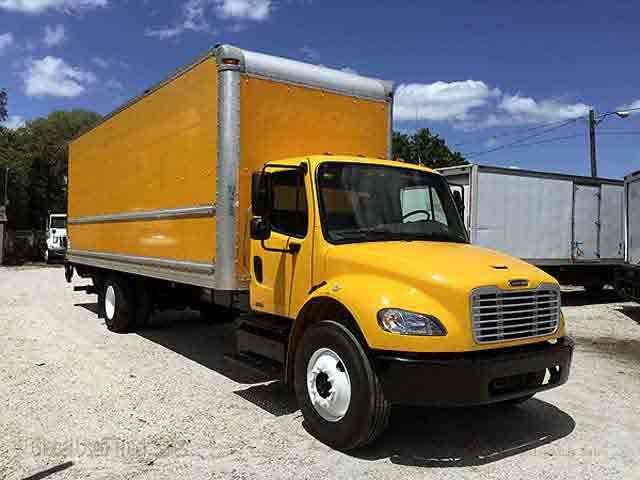 2012 Freightliner M2 26ft Box Truck For Sale Tampa Florida