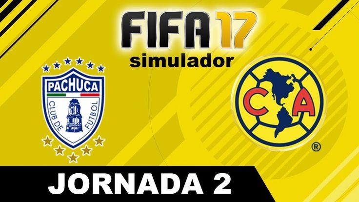 Pachuca vs América 2017 RESUMEN Jornada 2 Apertura 2017 Liga MX Simulad...