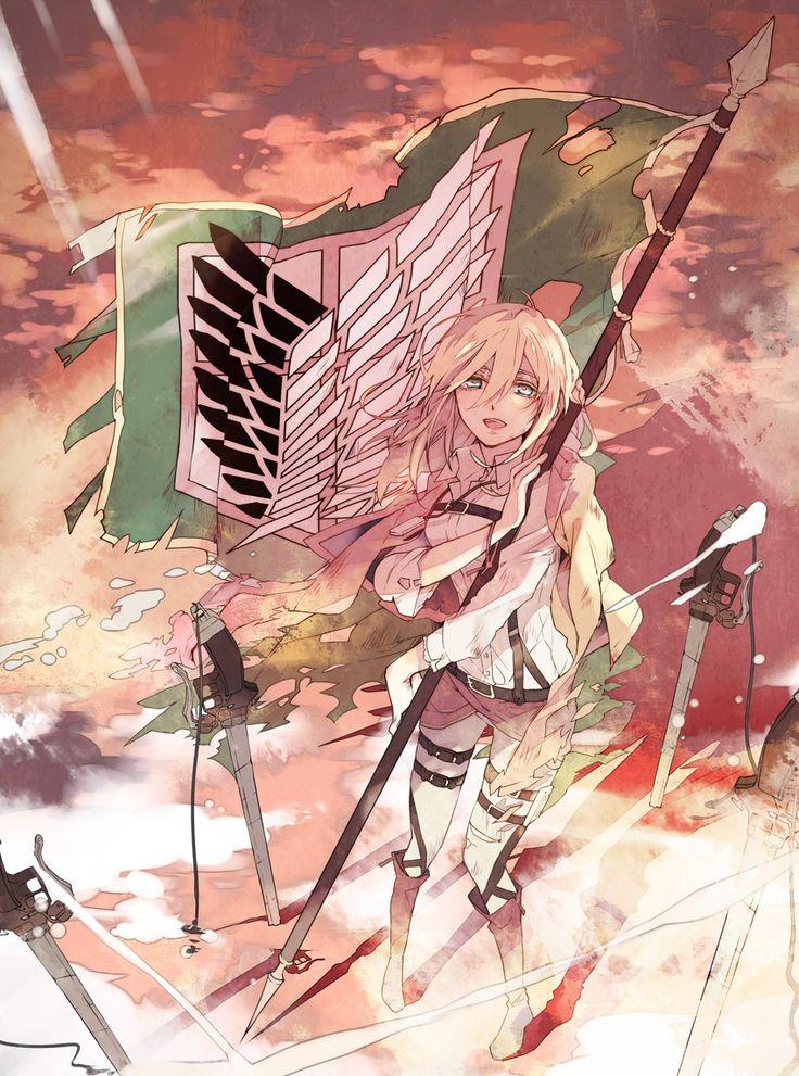 Krista / Historia Reiss - SnK, Shingeki no Kyojin, AoT, Attack on Titan
