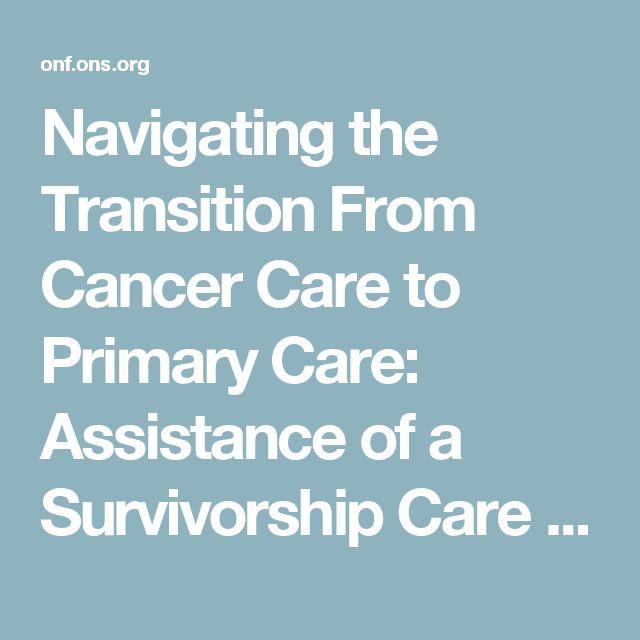 76 best Cancer Survivorship images on Pinterest Survival, Cancer - care plan