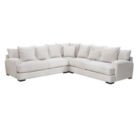 Z Gallerie Stella Sectional in brown.for the Movie room!  sc 1 st  Pinterest : z gallerie cameron sectional - Sectionals, Sofas & Couches