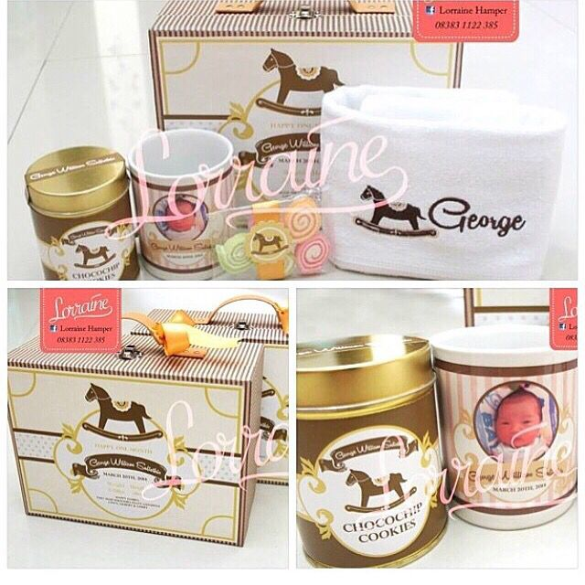 Baby george one month hamper