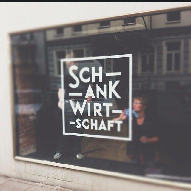 #schankwirtschaft in the making.
