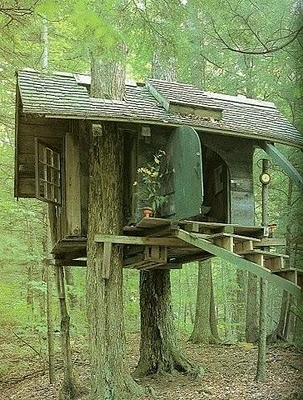 Are these tree homes calling to me ???