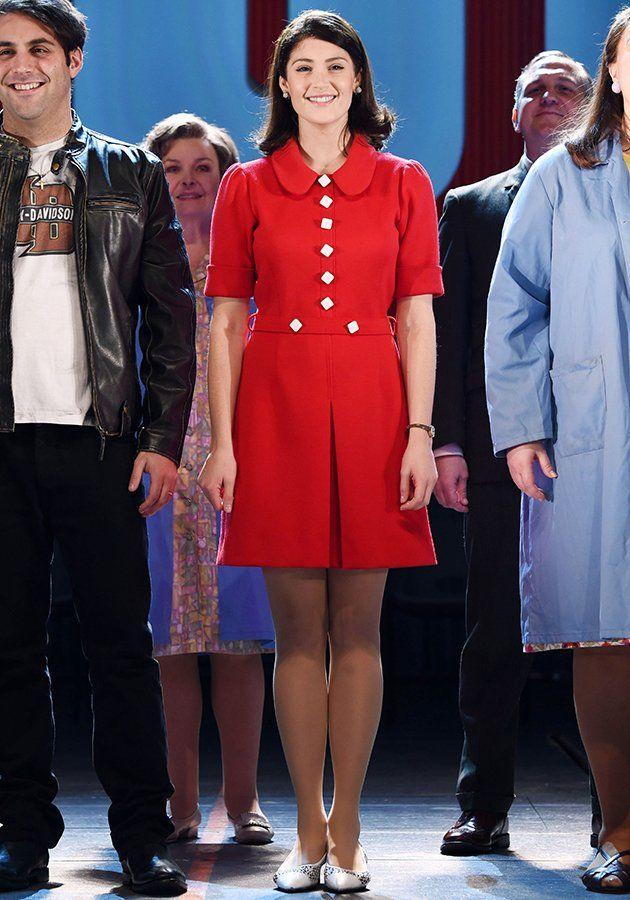 Gemma Arterton played Rita O'Grady in Made In Dagenham the musical [Rex]