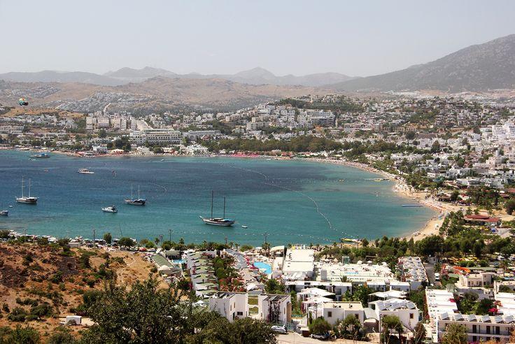 Bodrum é um dos destinos mais procurados na costa mediterrânea da Turquia