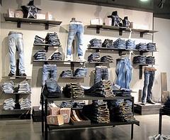 denim, jeans, retail, merchandising
