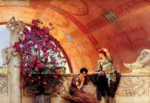 Unconscious Rivals Lawrence Alma Tadema