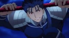 'Fate/stay night Unlimited Blade Works' Anime Promo Highlights Lancer