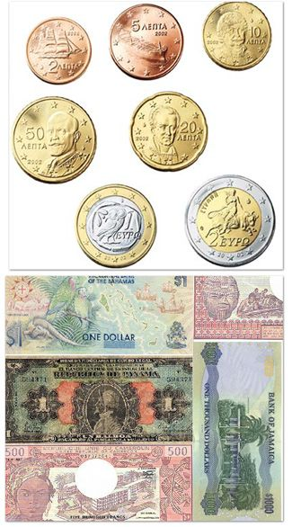 decorating with foreign currency thread