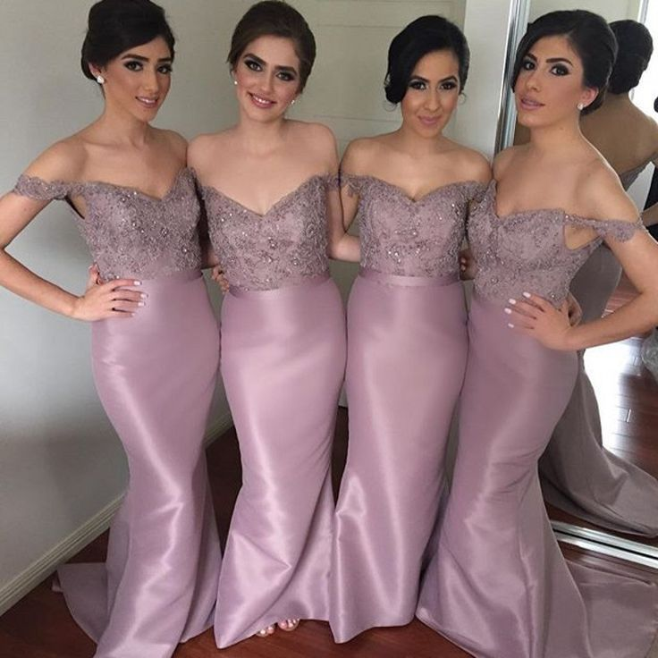 Find More Bridesmaid Dresses Information about Elegant Off Shoulder Taffeta Mermaid Bridesmaid Dresses Lace Appliques Sweetheart Long Party Dress 2015 Vestidos dama de honor,High Quality dress up plain dress,China dress code dresses Suppliers, Cheap dress rentals from SUZHOU S&T TRADE CO., LTD. on Aliexpress.com
