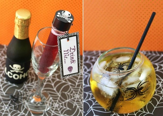8 ways to dress up your drink for halloween - Best Halloween Celebrations