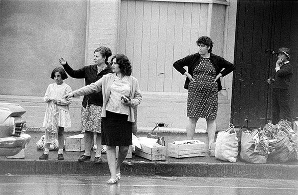 Waiting for a Taxi, Vic Market c.1970   Rennie Ellis Photographic Archive