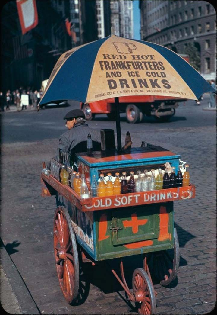 new york city 1940s history | An extraordinary high quality color pictures of New York city in the ...