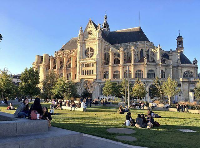 Jardin Nelson Mandela Annehidalgo Paris Parisjetaime