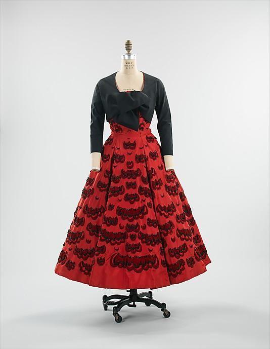 Роскошные платья 1950-х годов