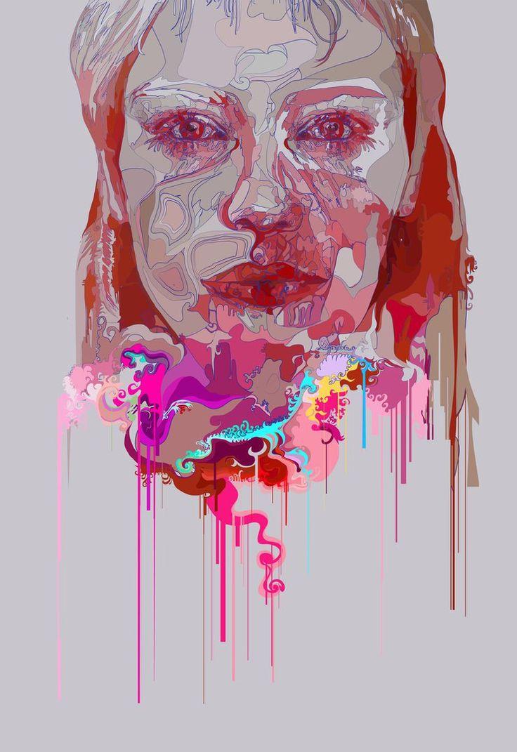 Painting in digital color by bojanvidovicartist.deviantart.com on @DeviantArt