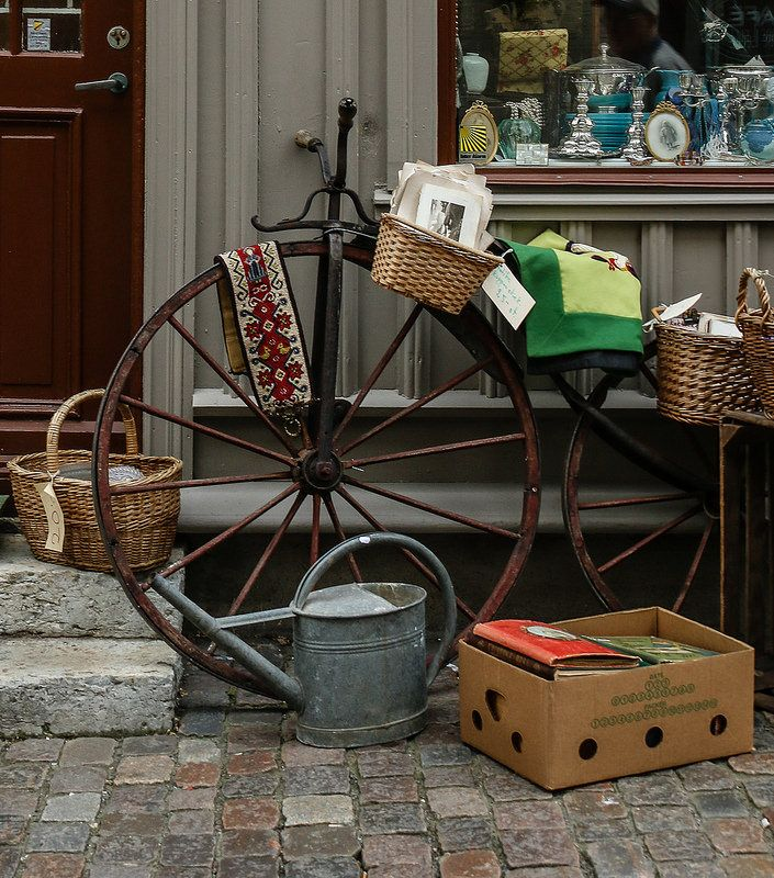 Bric a brac shop in Haga District, Gothenburg
