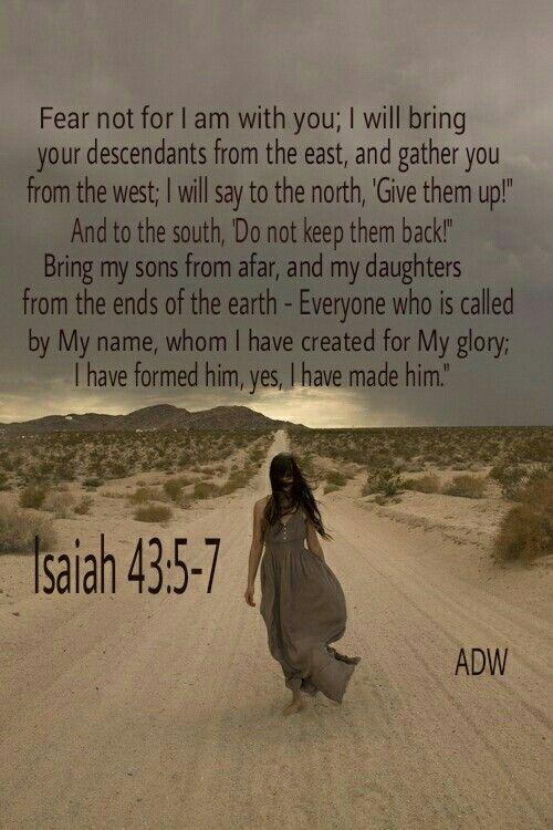 Isaiah 43:5-7