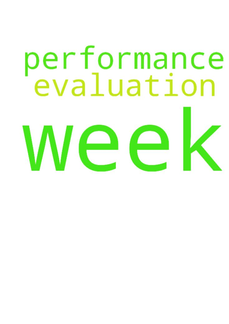 Please pray for my performance evaluation this week - Please pray - performance evaluation