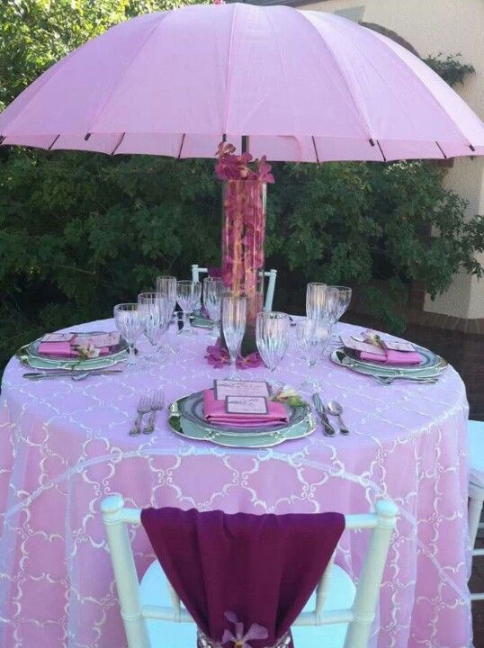 adds huge wow for little expense as a centerpiece done here with a tall vase filled with live orchids its the perfect decor for a bridalbaby shower