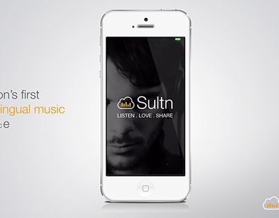 """Check out new work on my @Behance portfolio: """"Introducing sultn music app""""…"""