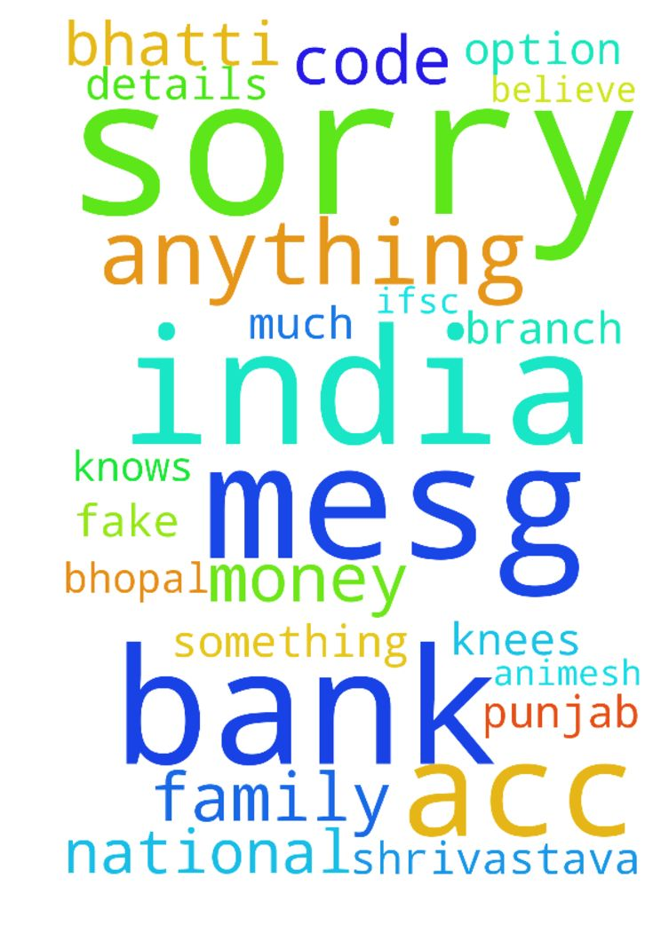 All prayers... I am from India  I am sorry to mesg - All prayers... I am from India I am sorry to mesg like this.. but dont have option I am in need anything you help please help... dont have money.... below are my account details... please help anything.... Bank Name Punjab National Bank Branch Chunna Bhatti Bhopal IFSC Code PUNB0647600 ACC NO 6476000100016904 ACC NAME Animesh Shrivastava Sorry again.. but I am in need... Believe me I am not fake god knows... how much I need this for my…