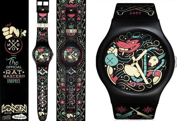 New From Vannen Watches - KRONK: Rat Basterd | Designer Vinyl Toys & Art Culture | Clutter Magazine