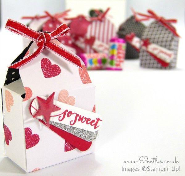 SpringWatch 2015 Envelope Punch Board Love Hearts Box Tutorial