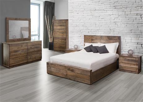 JC Perreault  Mobilier de chambre à coucher en bois