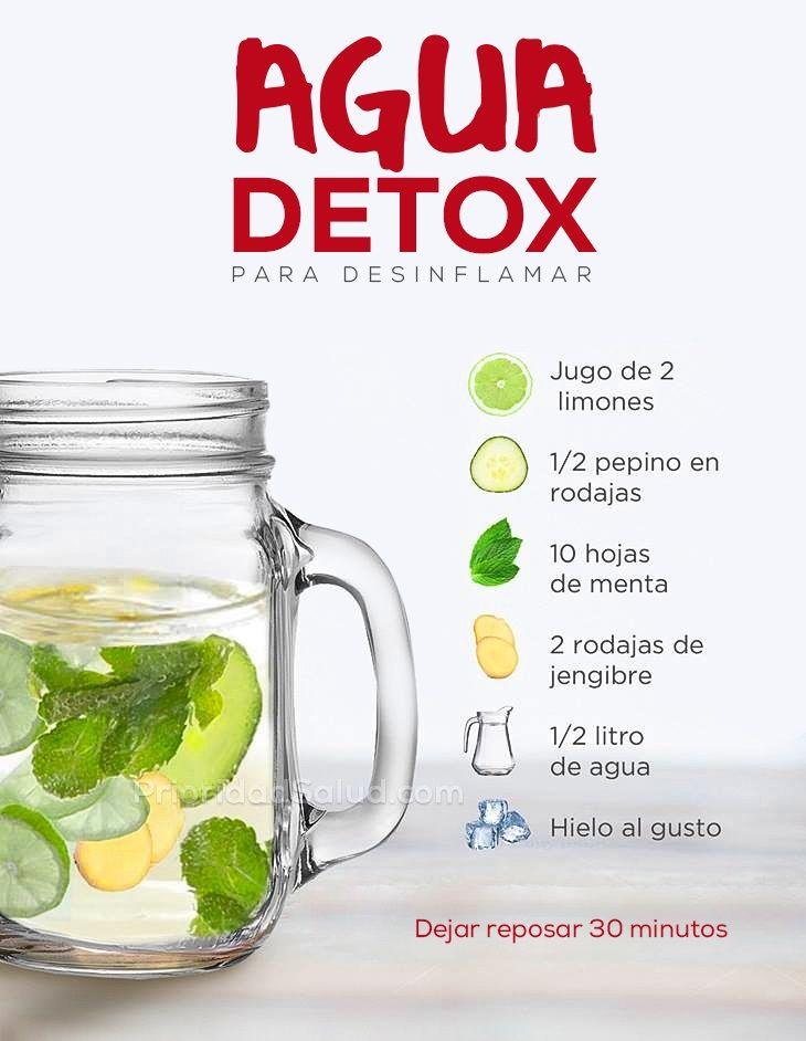 ricetta dieta limone detox per 1 litros