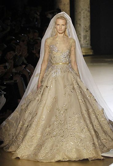 perfection.. Elie Saab wedding dress 2013 Haute Couture Paris