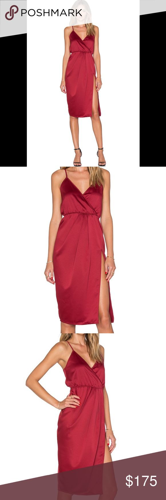 "Toby Heart Ginger x Love Indie Scarlett Dress Revolve Exclusive x Toby Heart Ginger x Love Indie Scarlett Dress in Red. Deep red color, elastic waist, side seam slit, adjustable straps. BNWT. Excellent condition. Sold out online. Approx 38"" long. REVOLVE Dresses"