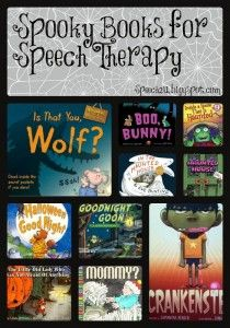 My Favorite Halloween Books for Speech Therapy
