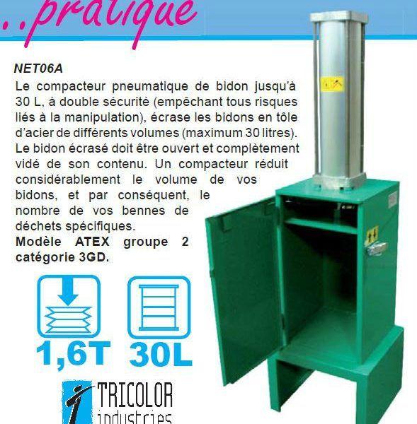 compacteur-bidon-pneumatique-NET6A-1-6T-30L
